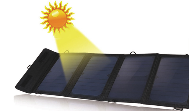 Outdoor portable solar charger