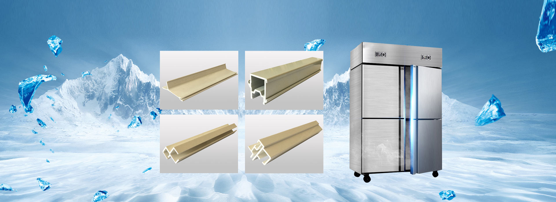 Cold chain and kitchen cabinet series