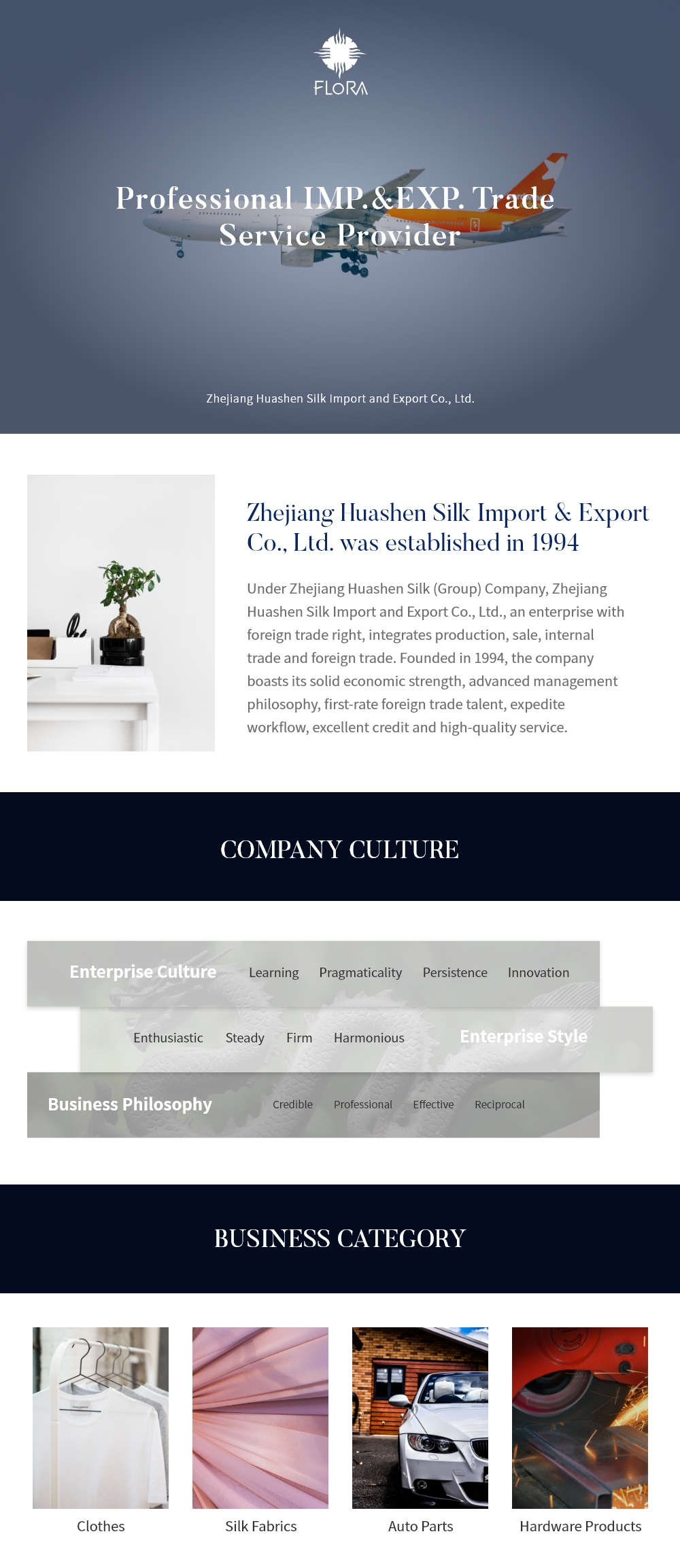 ZHEJIANG HUASHEN SILK IMP.&EXP.CO.,LTD.