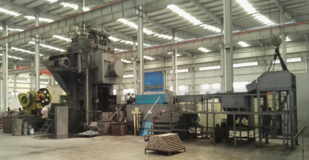 1600T Hot press forging automatic line