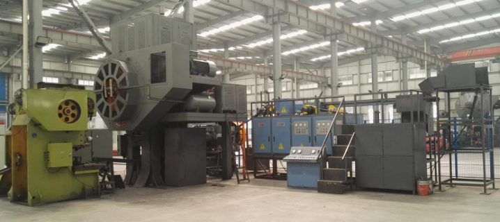 630T Hot press forging automatic line