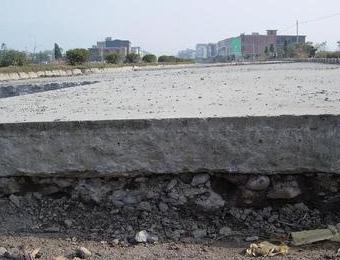 水泥路面斷裂