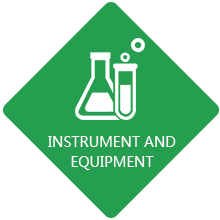 Instrument and equipment