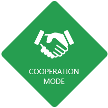 Cooperation mode