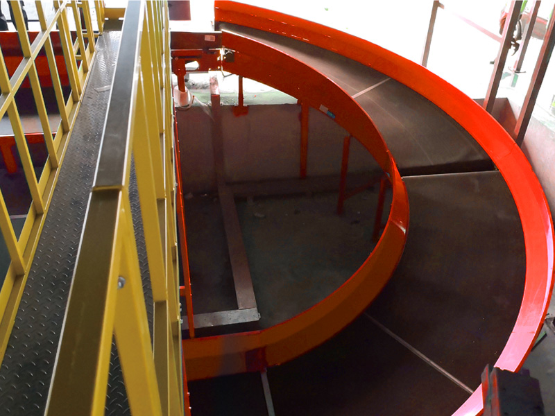Spiral Curve Belt Conveyor