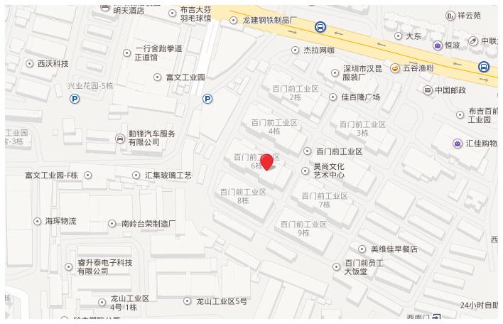 深圳市龙岗区布吉布沙路百门前工业区六栋西座3楼