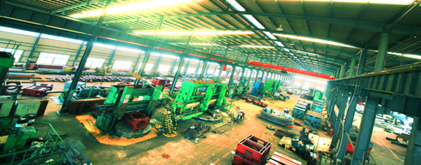 High precision equipment production line