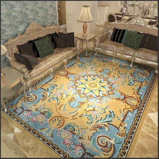 精品類窗簾、手工毯可享受折上折優惠