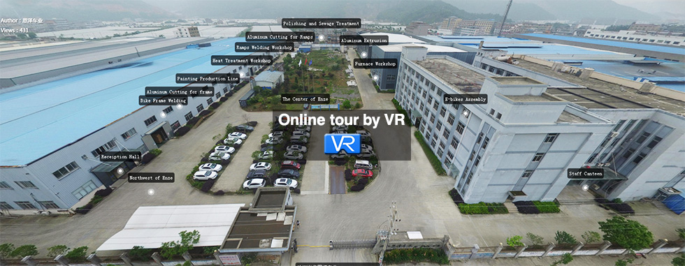 Online tour by VR