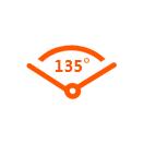 135°廣角