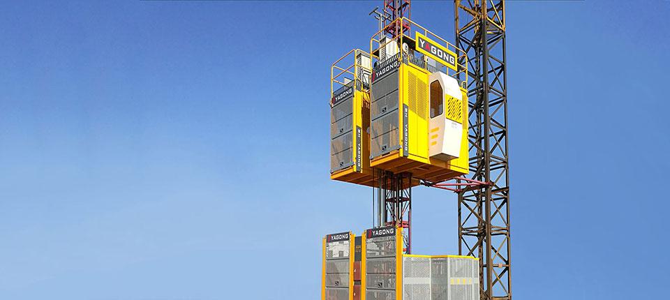 施工電梯案例