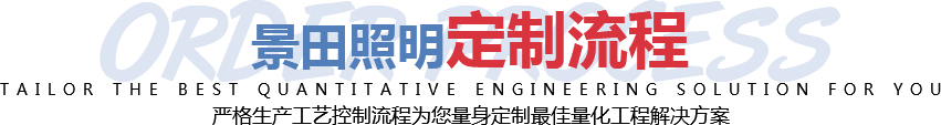 景田照明定制流程