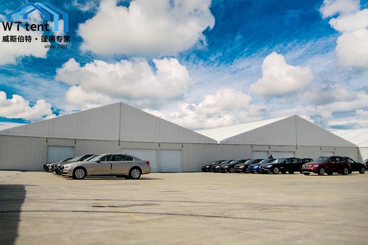 苏州威斯伯特大型煤炭仓储防尘篷房环保临时大棚