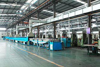 Automatic vulcanization production line
