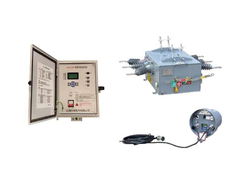 户外高压智能(永磁)真空断路器ZW20-12F(M)