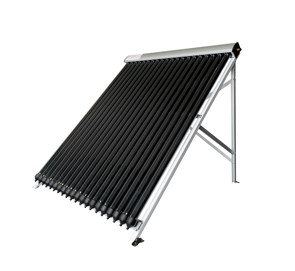 Heat pipe solar collector 20