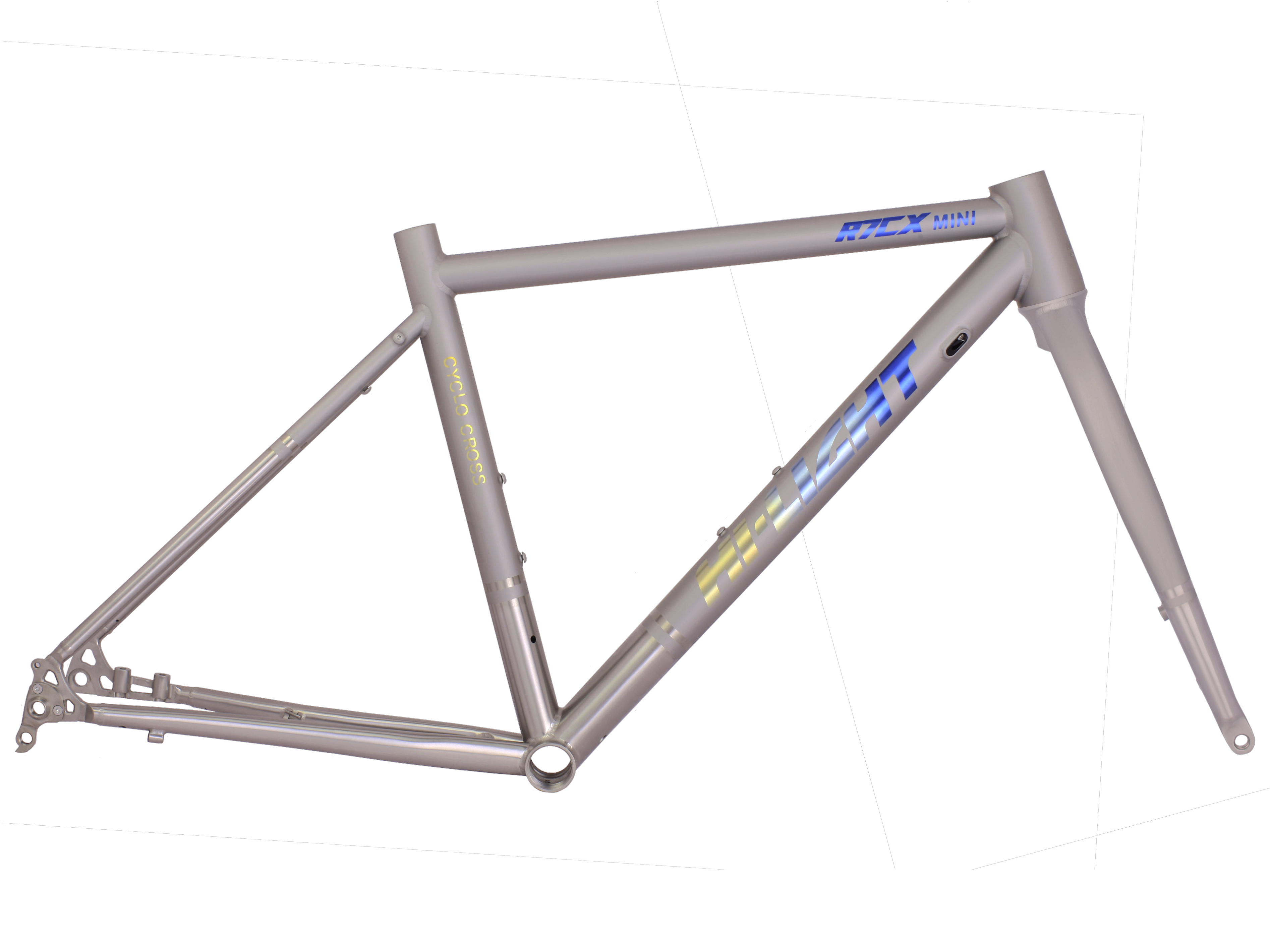 R7CX MINI TITANIUM CYCLO-CROSS FRAME