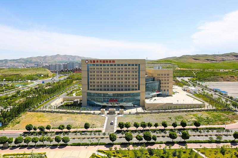2019年魯班獎工程——南通二建集團承建的新疆烏魯木齊高鐵醫院
