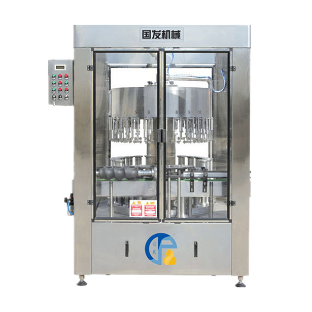 Automatic negative pressure wine filling machine
