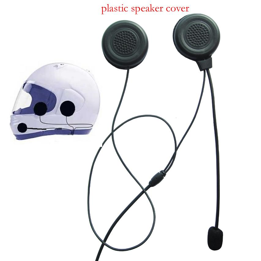 motorcycle headset with mic tube