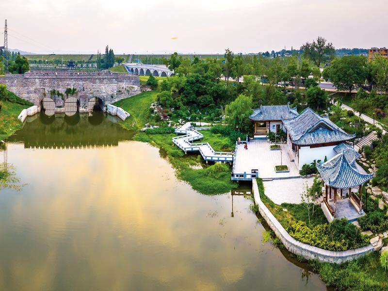 滁州內城河景觀