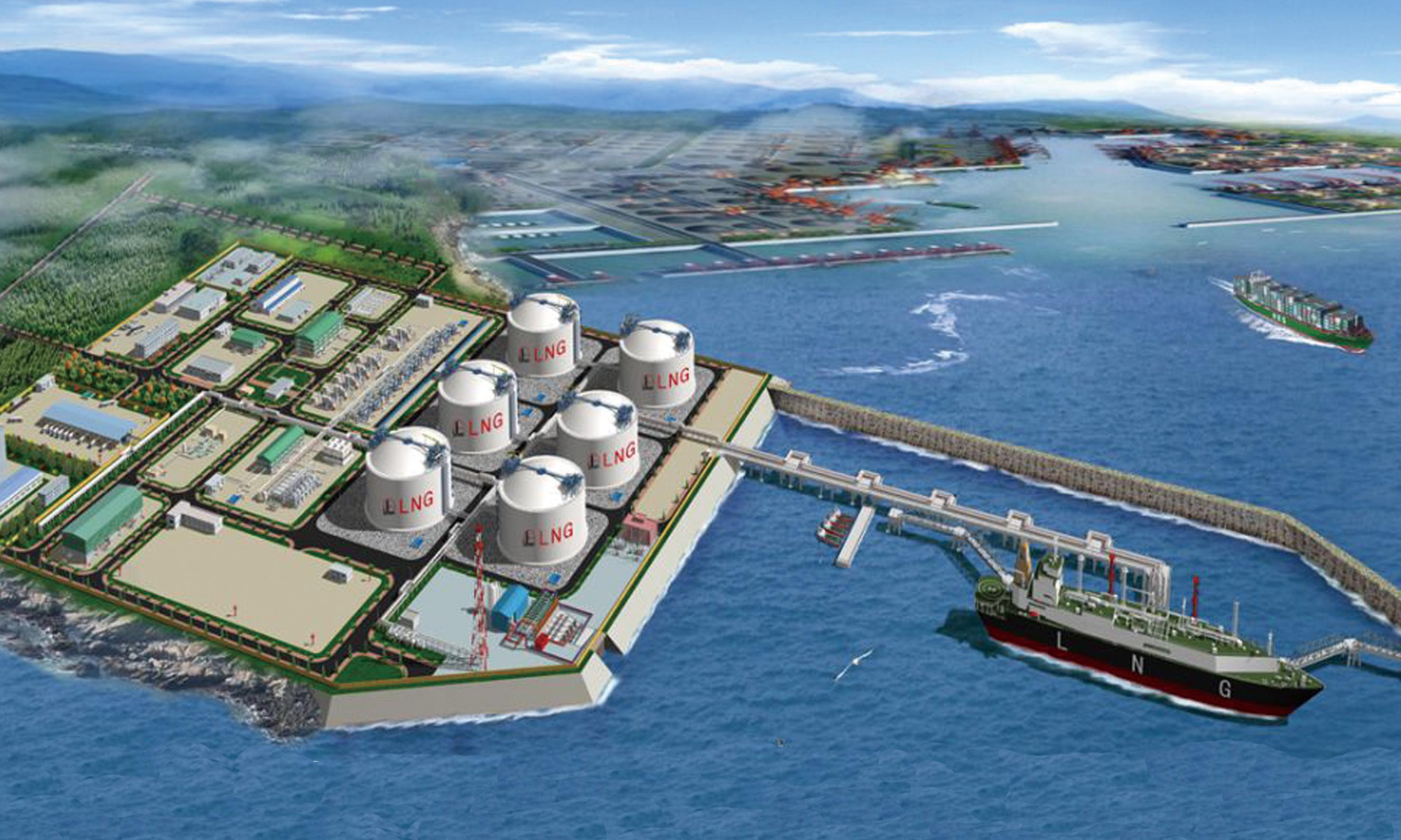 天津液化天然氣(LNG)儲罐項目