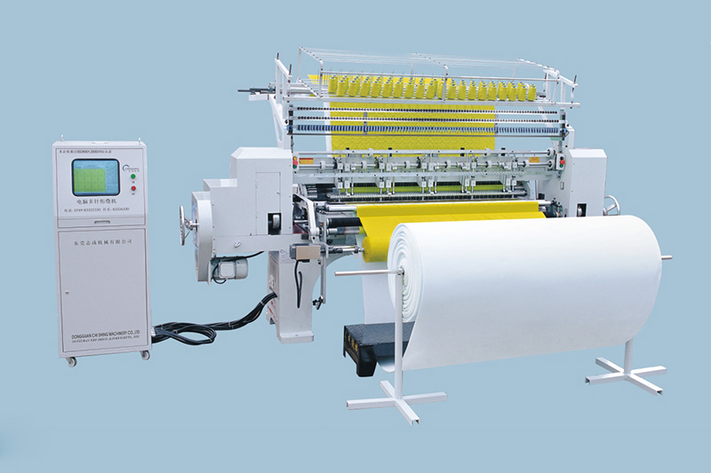 64 inches two needle bar jackets quilting machine digital control