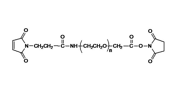 Maleimide PEG Succinimidyl Carboxymethyl Ester
