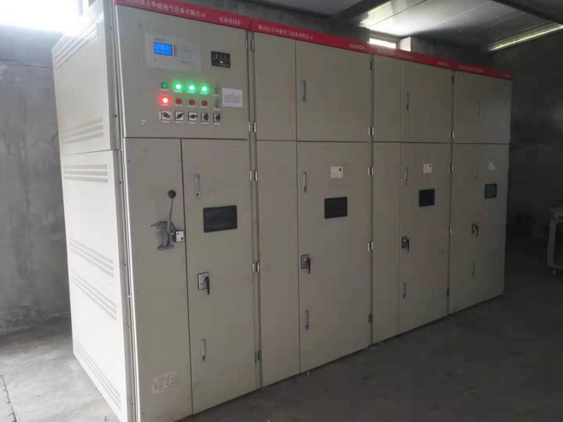 TBB-10-1800 reactive power compensation cabinet was used in Fuxian, Yan'an