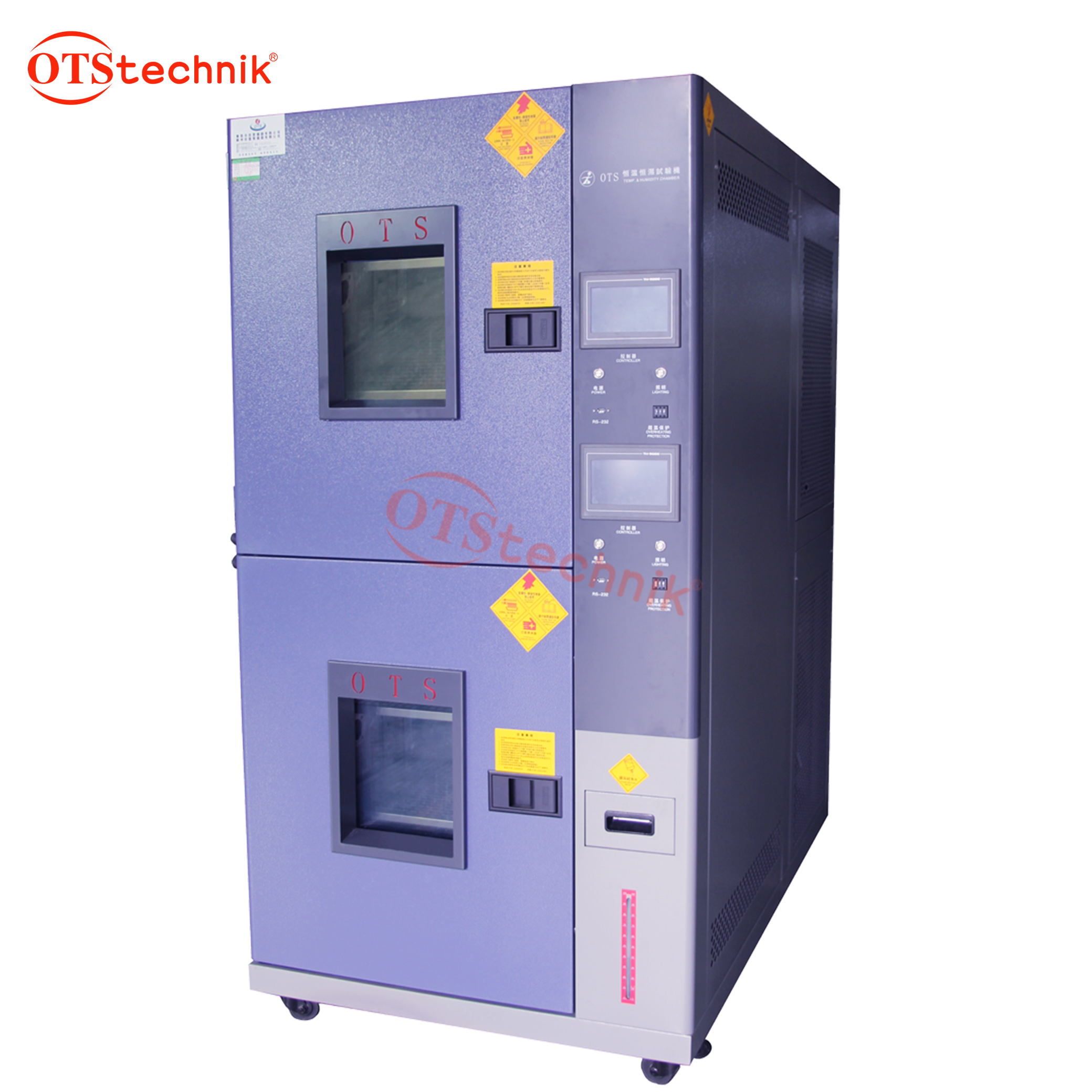 Double-layer constant temperature and humidity test chamber