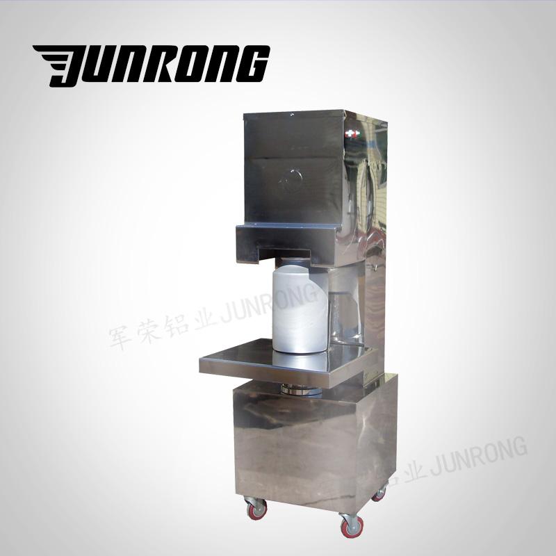 铝瓶全自动封盖机封口机轧盖机