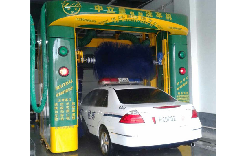 龍門往復式洗車機(帶仿形吹風)