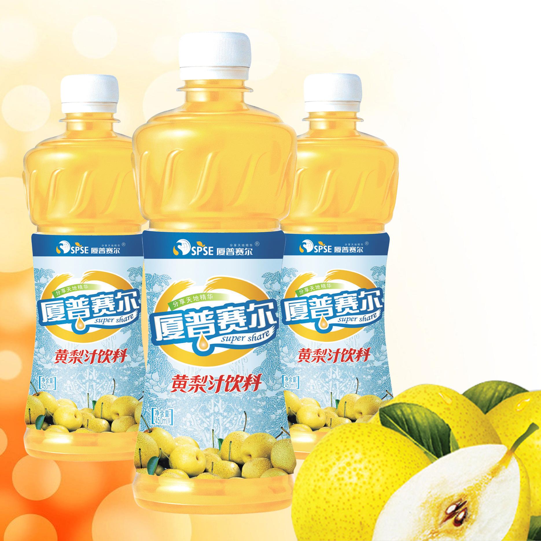 450mL黃梨汁飲料