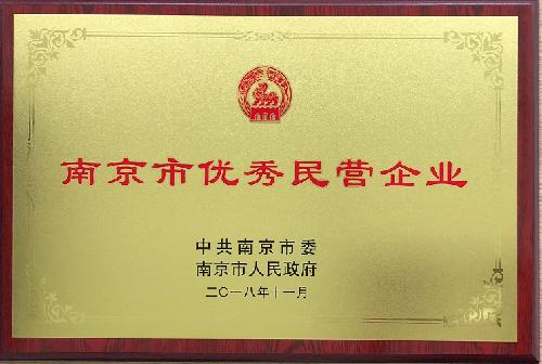 南京市優秀民營企業