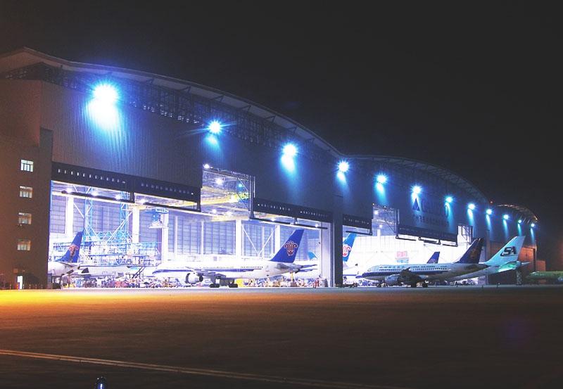 广州机场机库