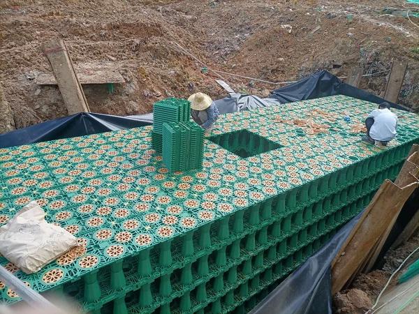 深圳市-大鵬石頭社區公園雨水回收中水系統工程項目