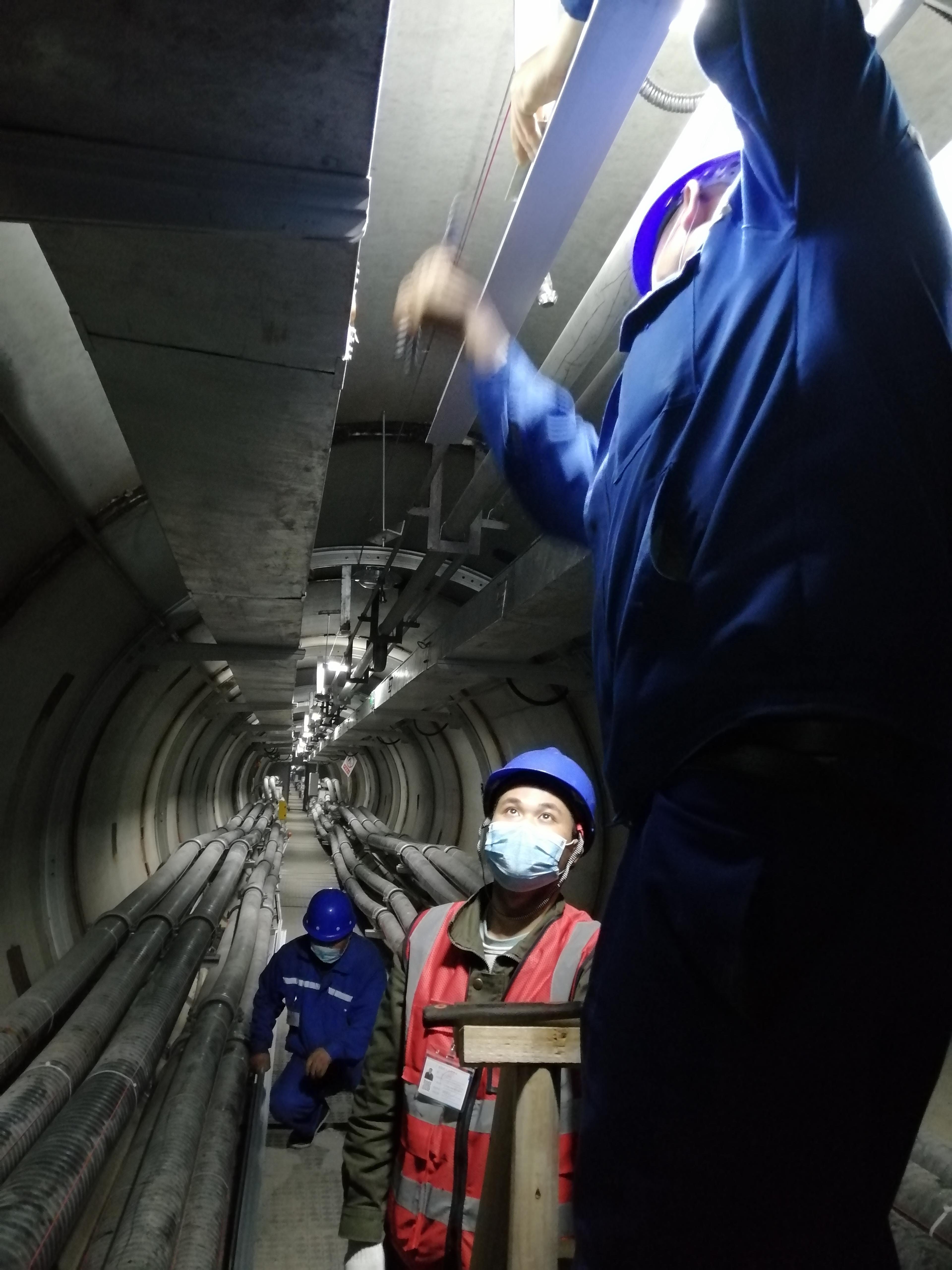 國家電網-浙江蜀山隧道巡檢項目
