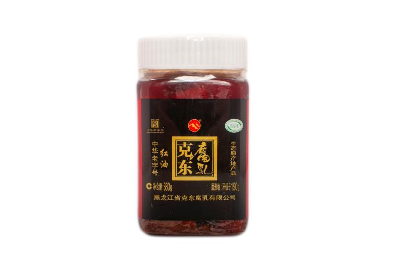 380g红油腐乳