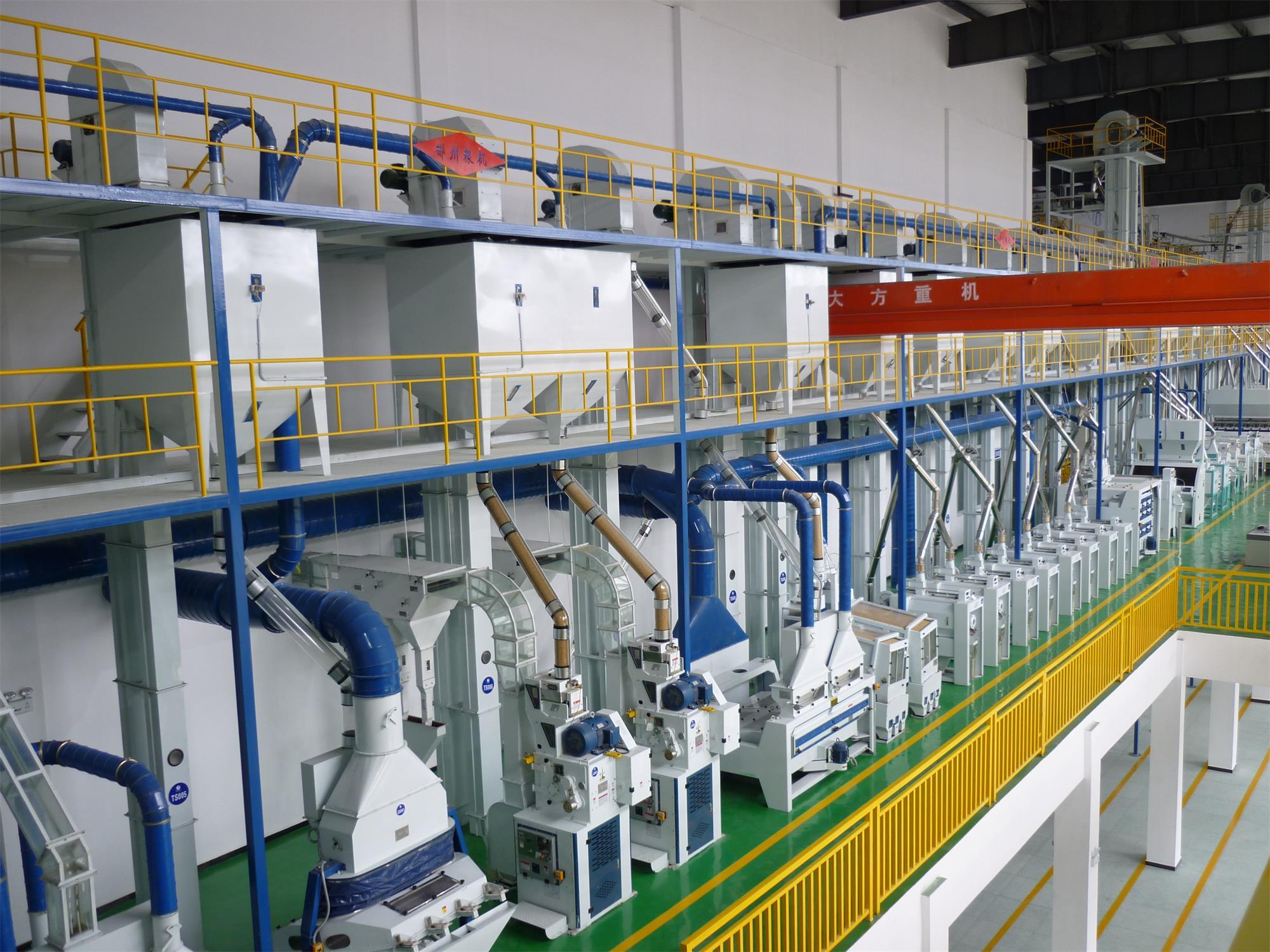 湖南常德廣積米業年產12萬噸精米成套工程