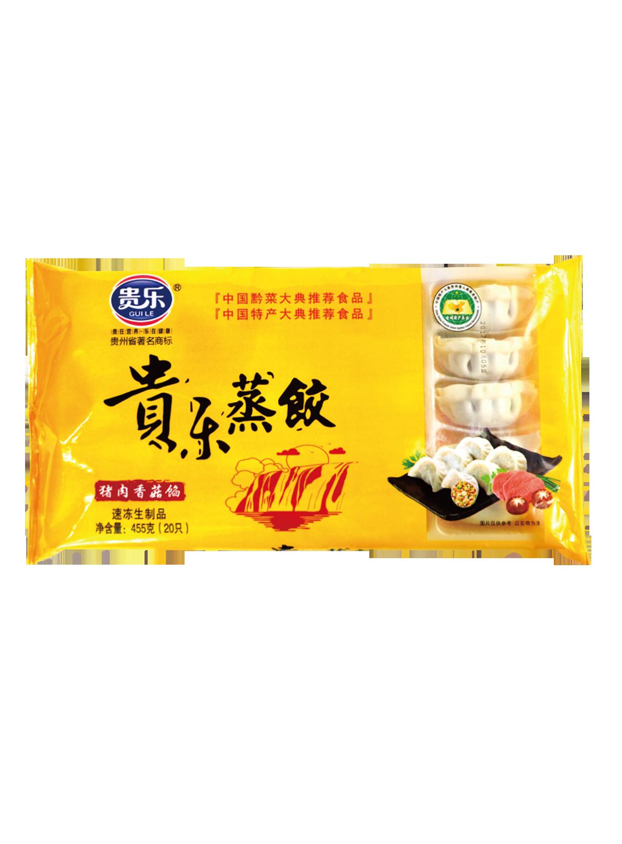 貴樂蒸餃 455g