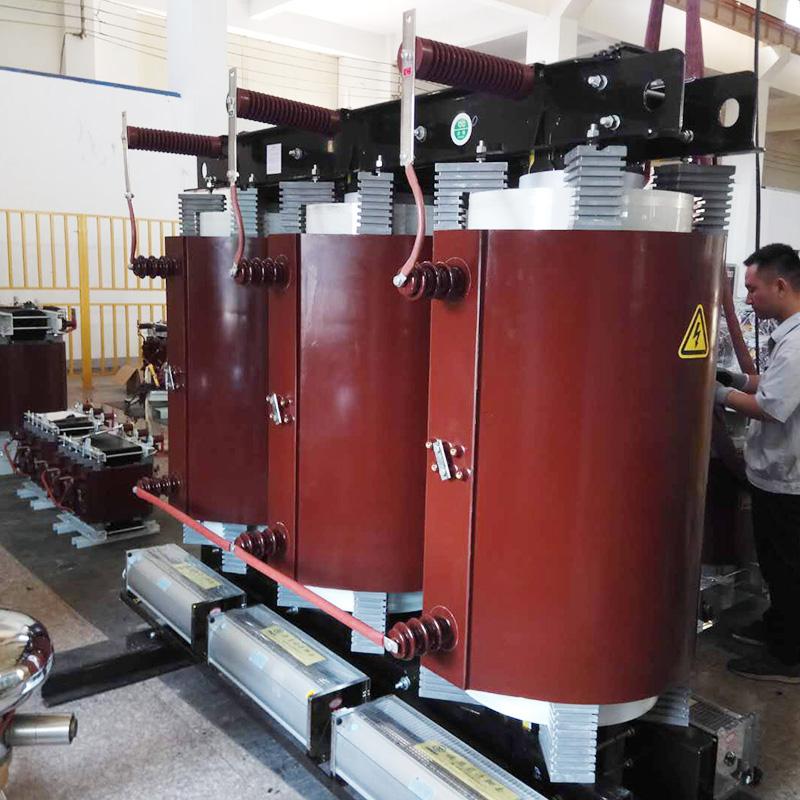 35kV級SC(B)10型三相樹脂絕緣干式變壓器
