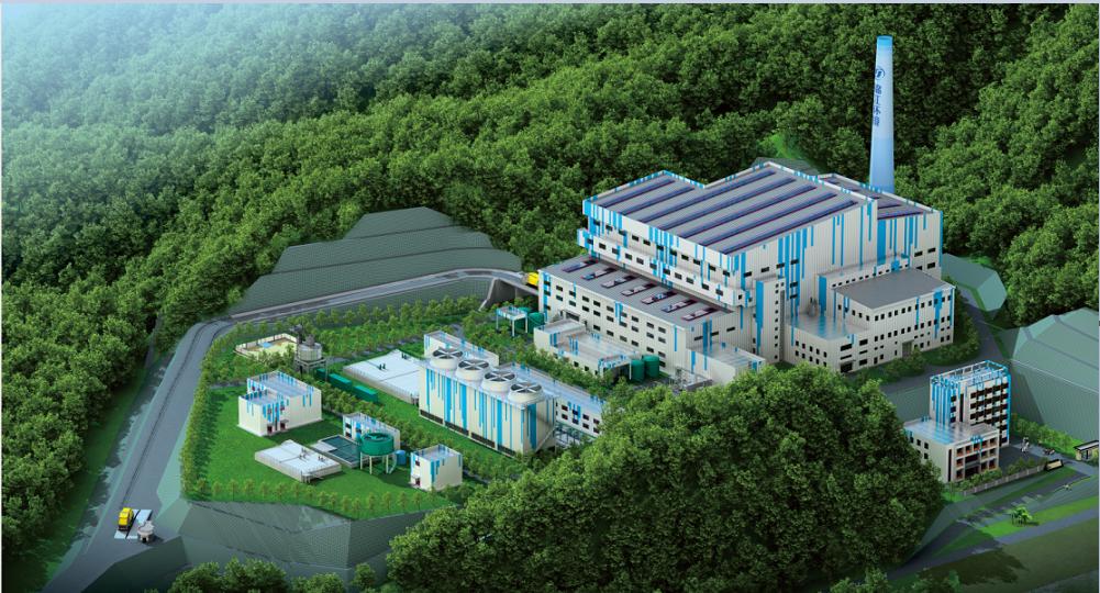 景德鎮市樂平礦務局生活垃圾焚燒發電廠一期工程