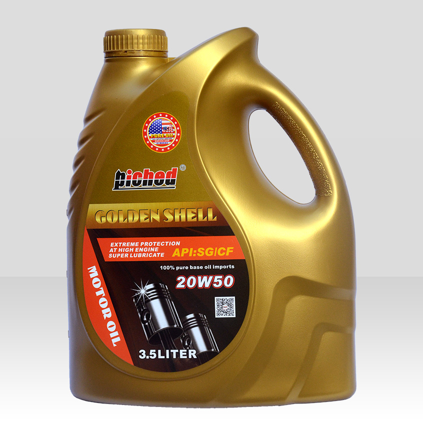 Lubricant lucringcating oil-Motor oil-金壳SG-CF-20W50_3.5L-F