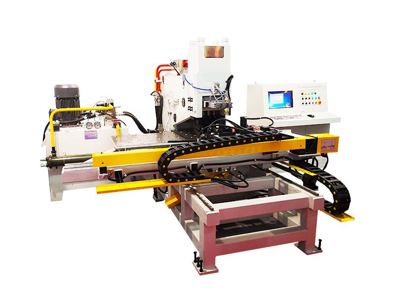 江西南昌数控液压板材冲孔机选光先数控BNC100型连接板冲孔机