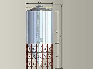 60LTK寬板系列鋼板倉