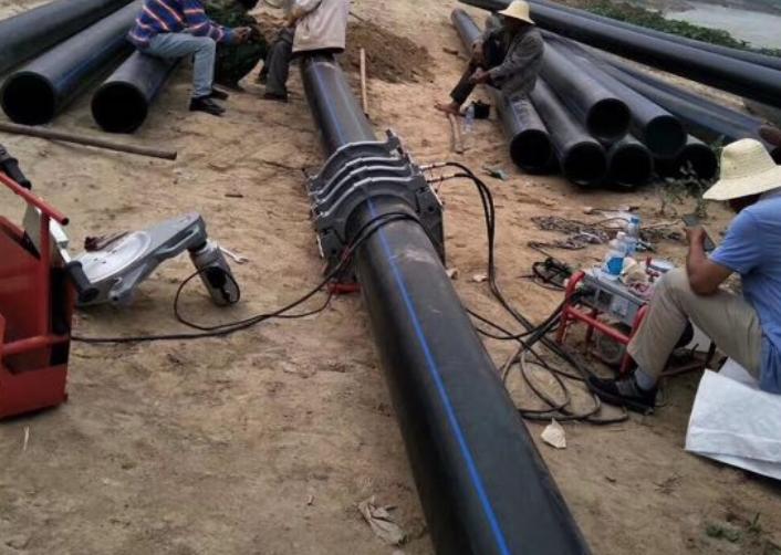 PE管翻边观察热熔连接标准规范