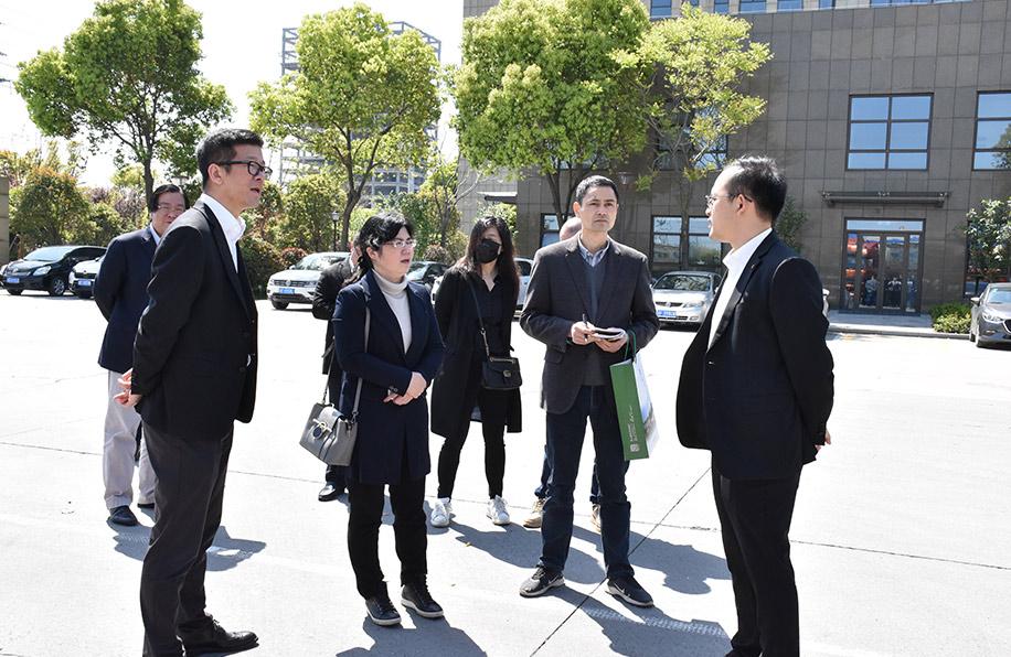 省生态环境厅大气处领导莅临宇石公司检查指导 宇石公司
