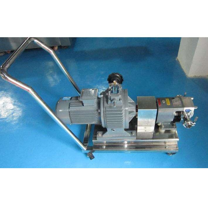 德斯盛手推式移動泵車