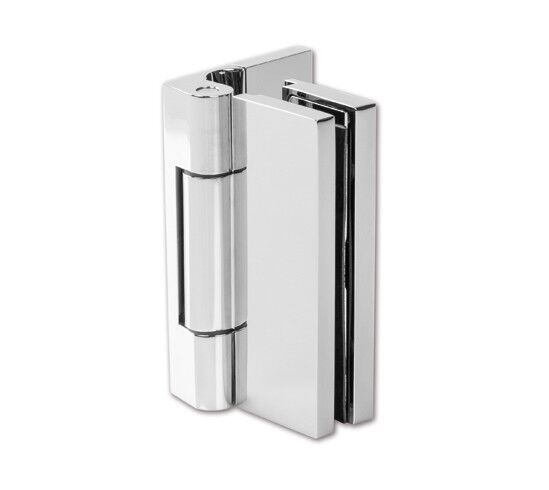 Bi-Fold Shower Door Hinge with cover plate