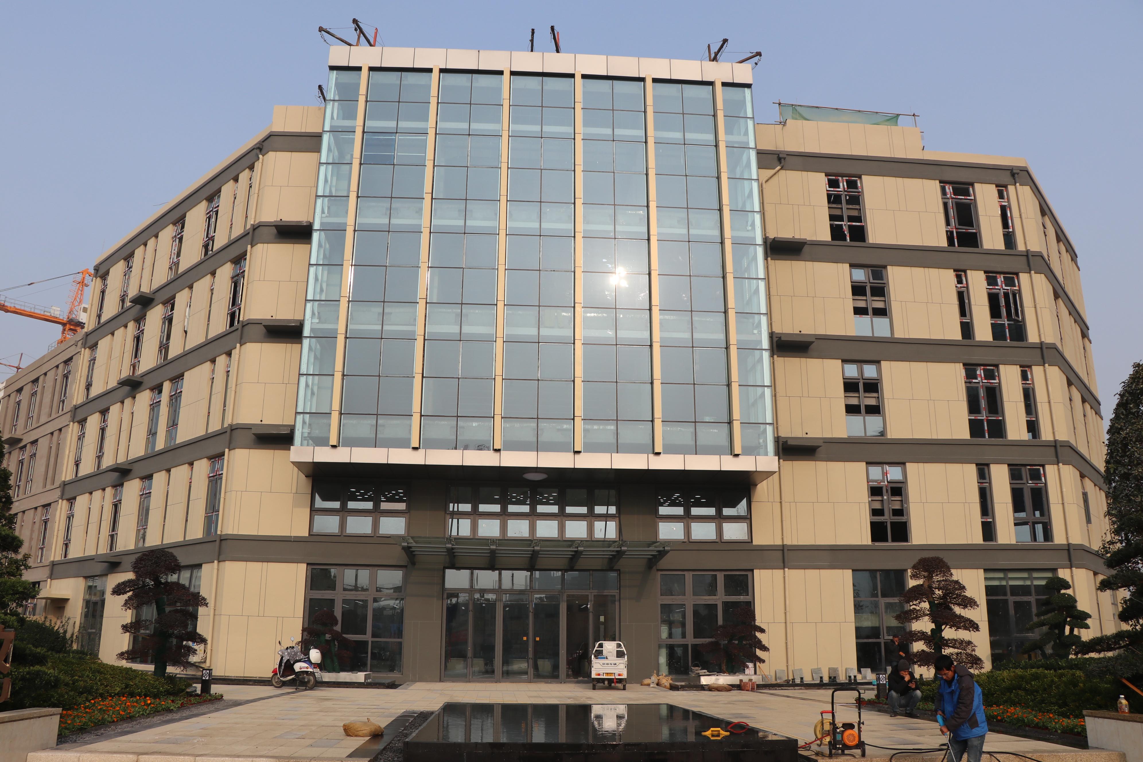 装配式建筑服务中心项目